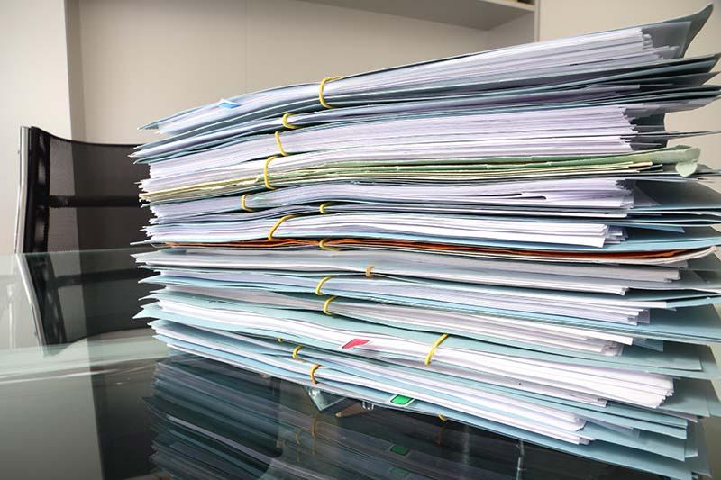 Como organizar documentos de uma empresa