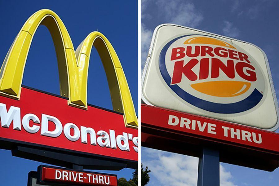franchising Mc Donald's e Burguer King