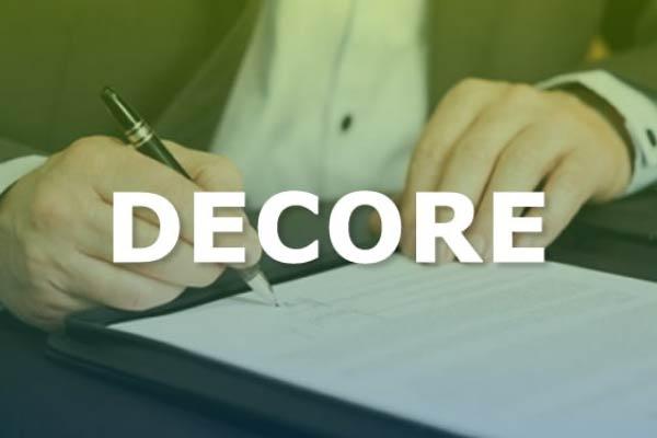Entenda como emitir o documento DECORE?